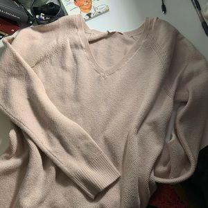 pink gap v-neck sweater like brandy melville